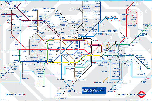 london map pdf. London Tube Map