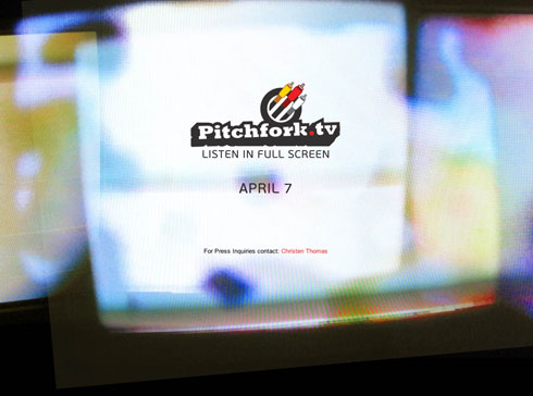 Pitchfork.tv Splash Page Bring It