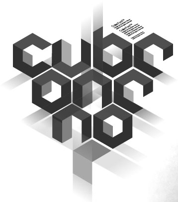 Cube 02 font by Fontfabric