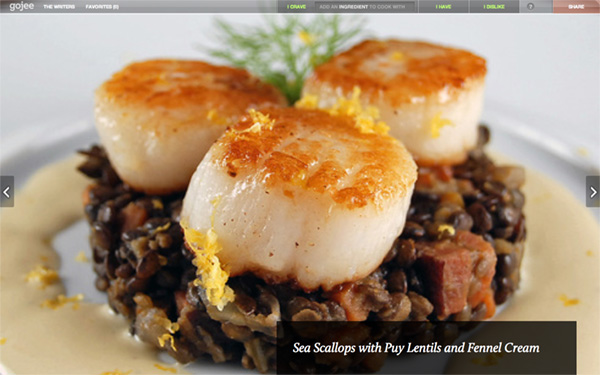 Whet Your Appetite with These Tasty Recipe Site Designs