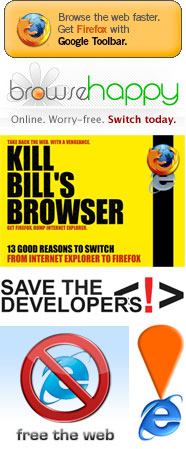 Campaigns to kill the web browser that just won't die: Internet Explorer 6