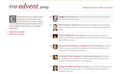PHP Advent