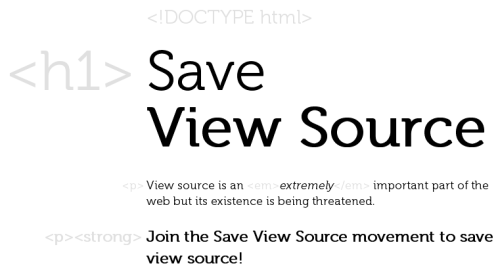 Long live View Source!