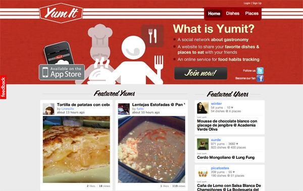Yumit website